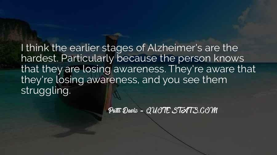 Quotes About Losing Someone To Alzheimer's #700616