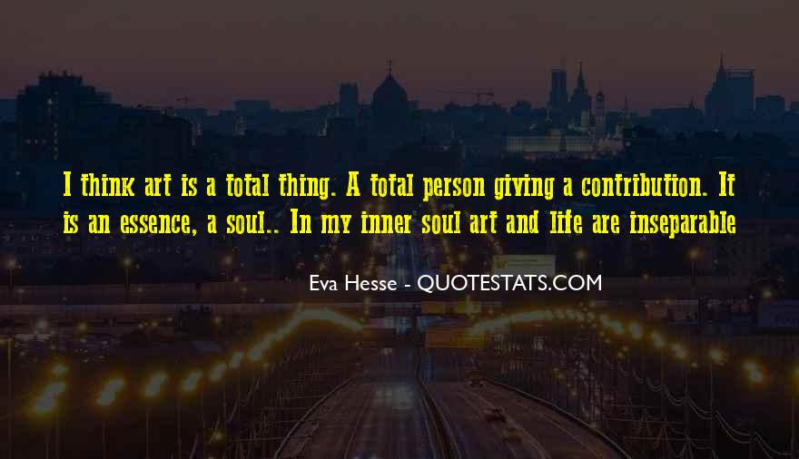 Quotes About Inner Soul #108581