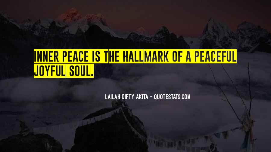 Quotes About Inner Soul #467793