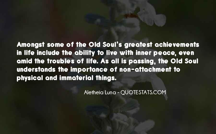 Quotes About Inner Soul #737374