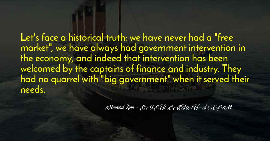 Quotes About Government Intervention #1068774