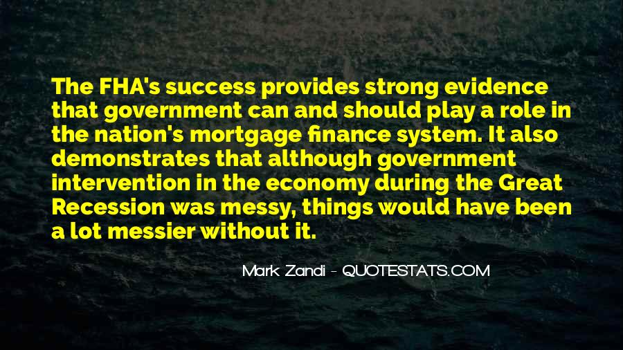 Quotes About Government Intervention #1105858