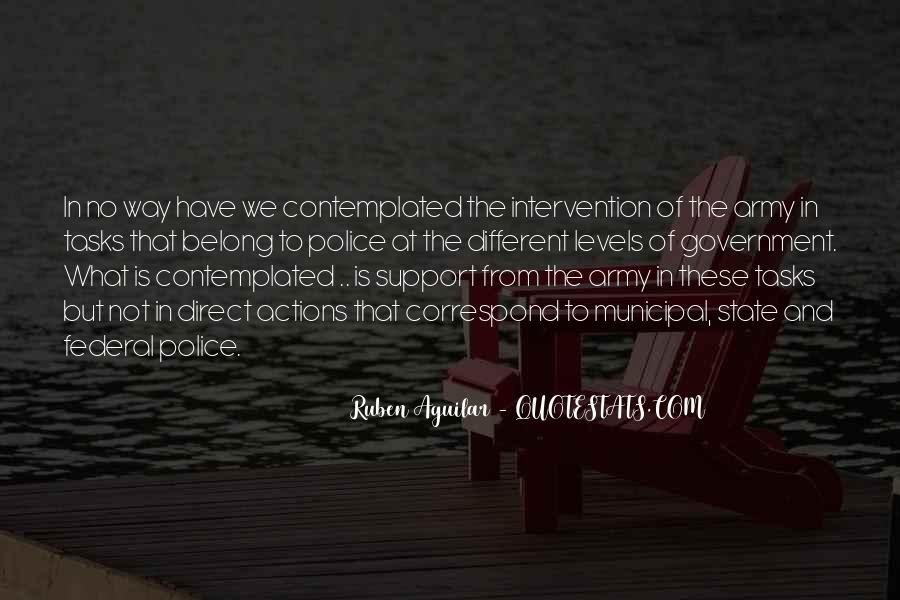Quotes About Government Intervention #1160187
