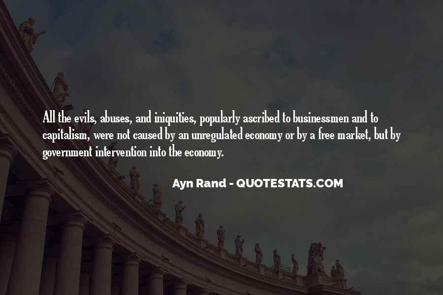 Quotes About Government Intervention #1215851