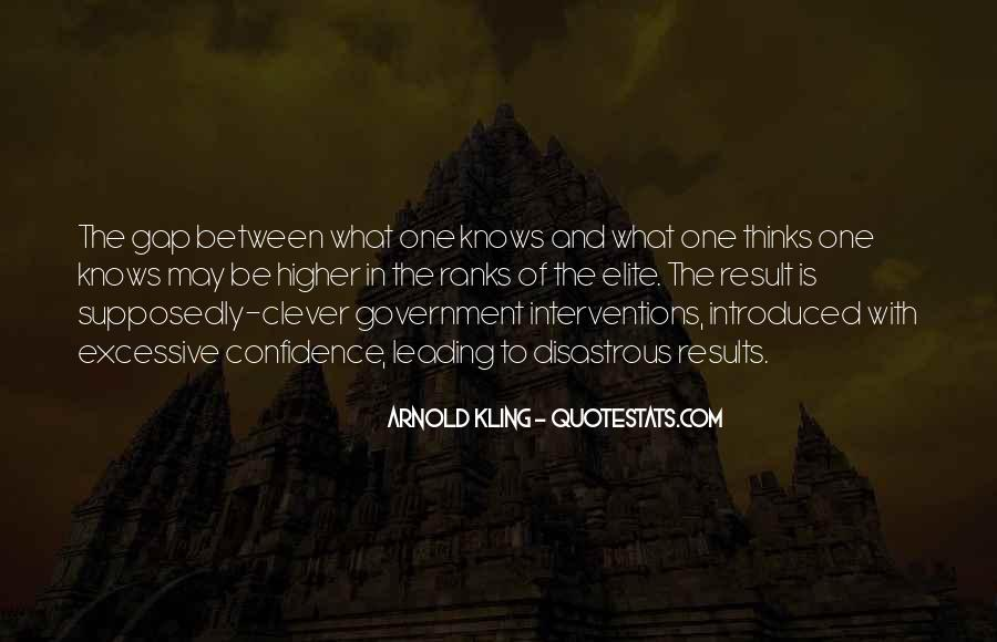 Quotes About Government Intervention #1262801