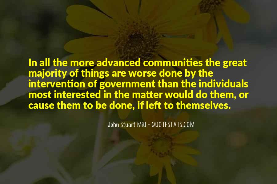 Quotes About Government Intervention #1534668