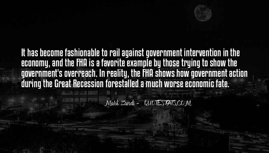 Quotes About Government Intervention #1581047