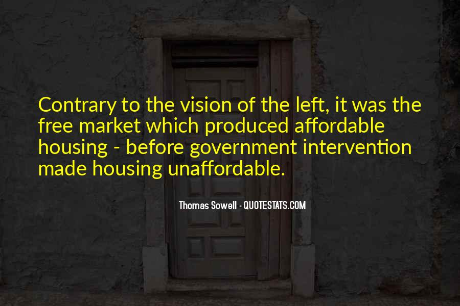 Quotes About Government Intervention #1641784