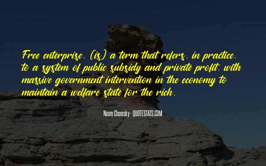 Quotes About Government Intervention #1658424