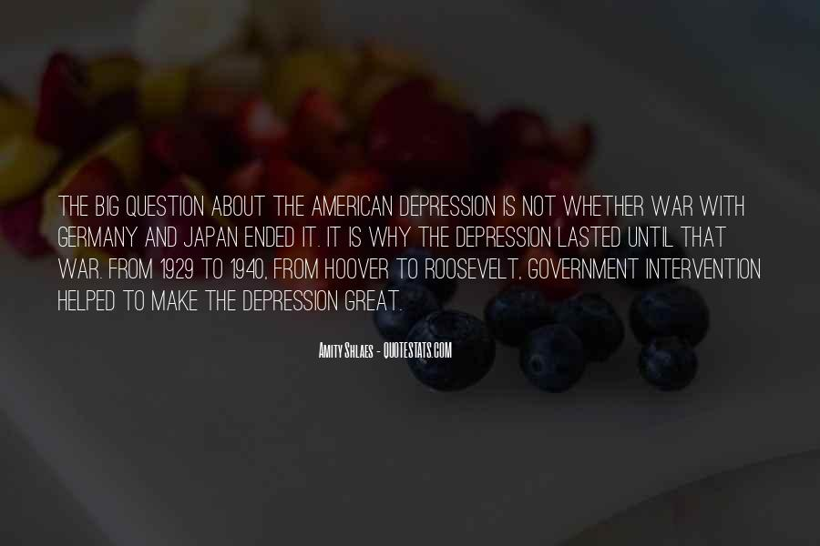 Quotes About Government Intervention #1731539