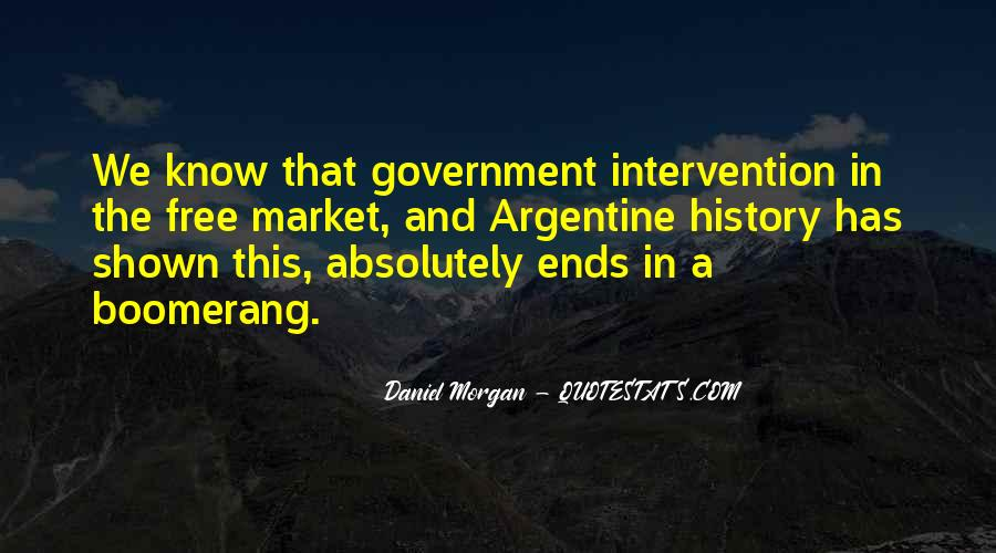 Quotes About Government Intervention #384474