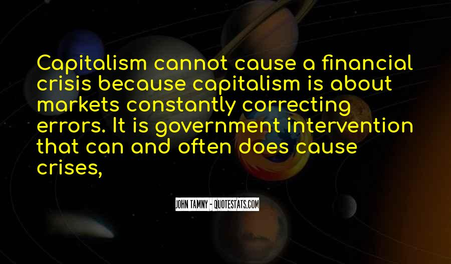 Quotes About Government Intervention #45714