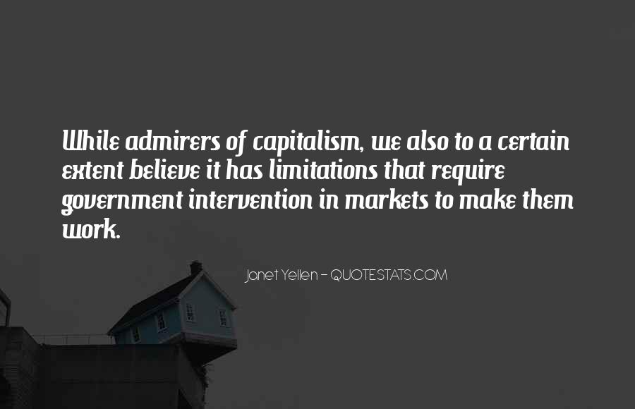 Quotes About Government Intervention #65809
