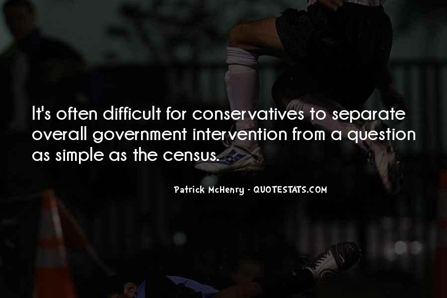 Quotes About Government Intervention #771181