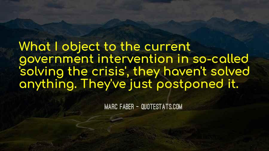 Quotes About Government Intervention #799976