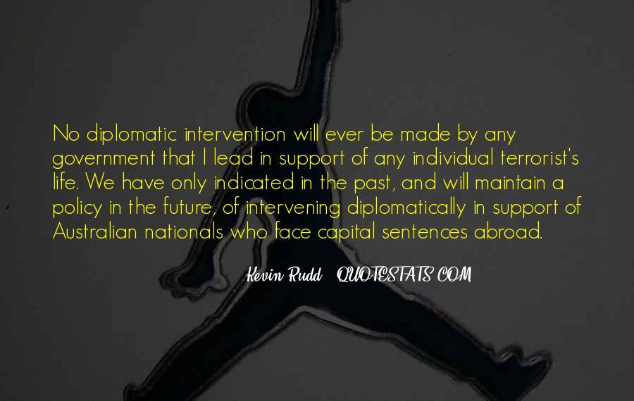 Quotes About Government Intervention #81792