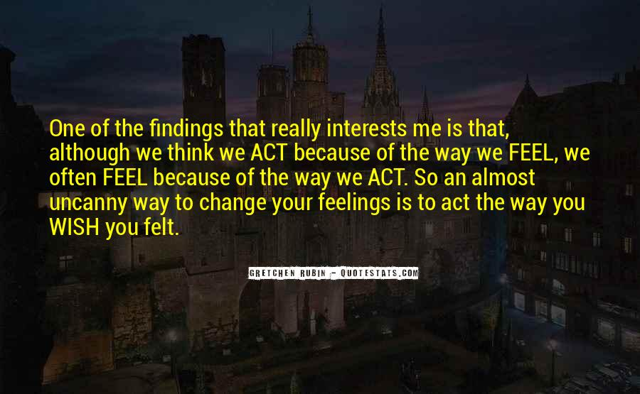 Quotes About Feelings #1095