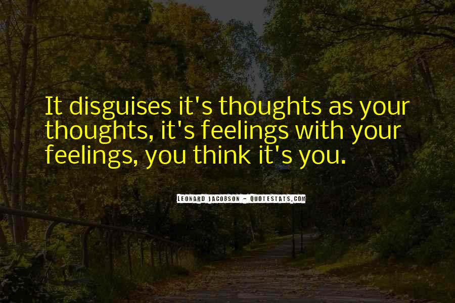 Quotes About Feelings #13035