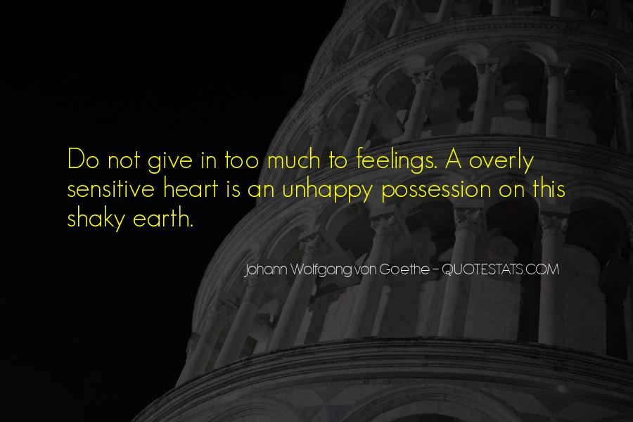 Quotes About Feelings #15217