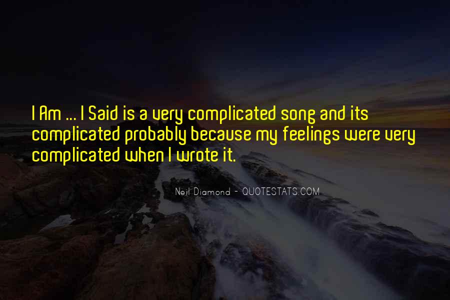 Quotes About Feelings #6921