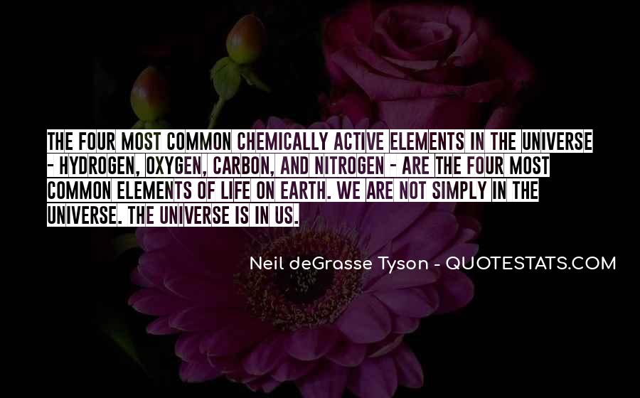 Quotes About The Four Elements Of Life #696181
