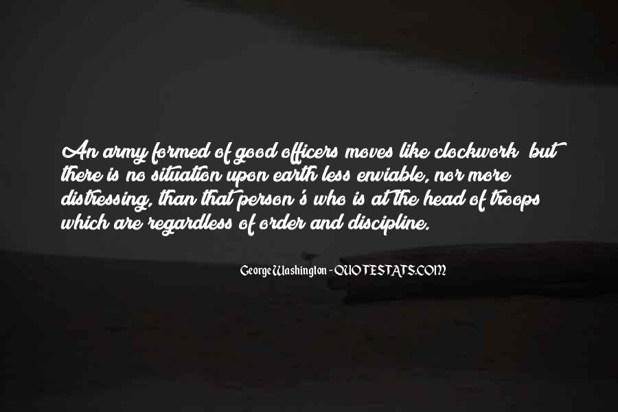 Quotes About Officers In The Army #1557781