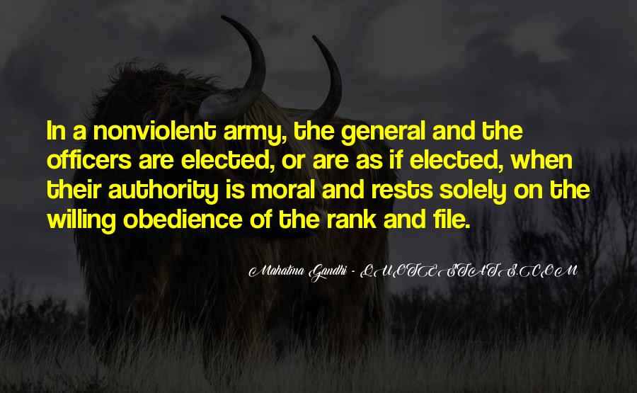 Quotes About Officers In The Army #1582372