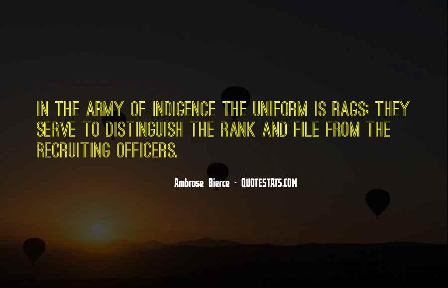 Quotes About Officers In The Army #1709962