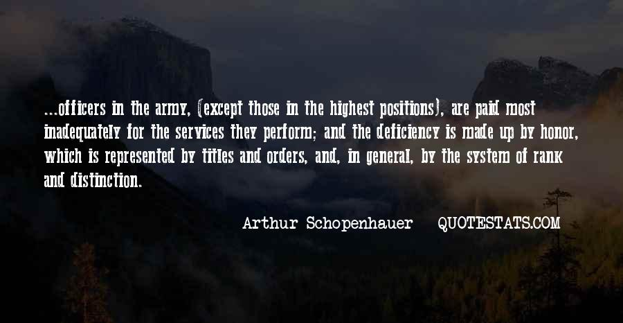 Quotes About Officers In The Army #179365