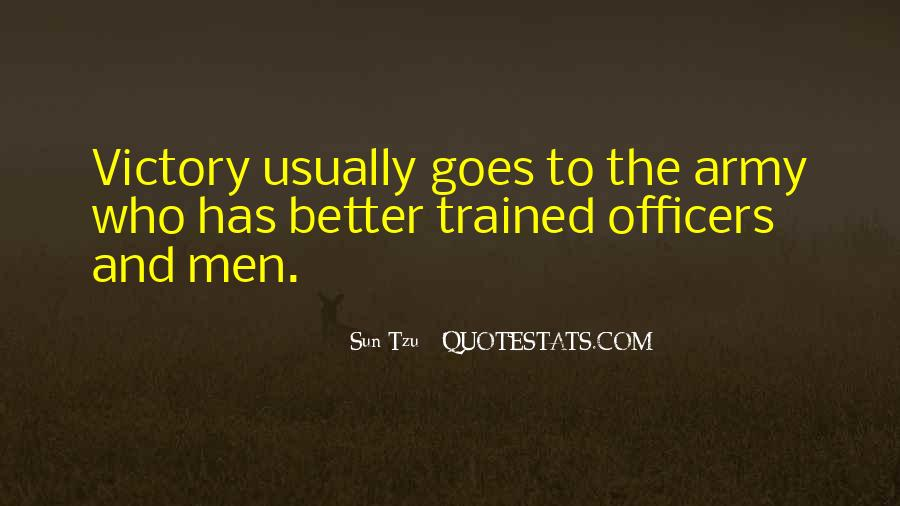 Quotes About Officers In The Army #336148