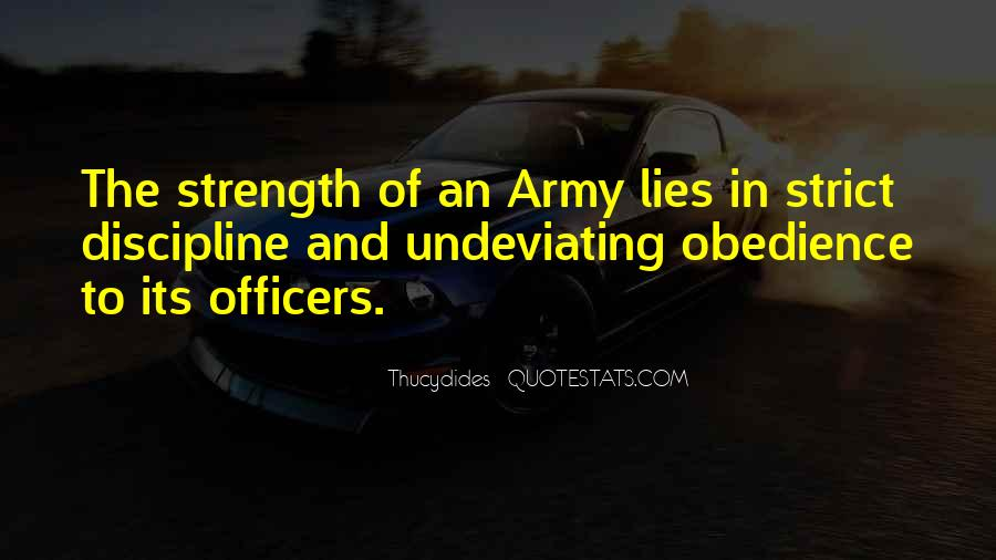 Quotes About Officers In The Army #369580