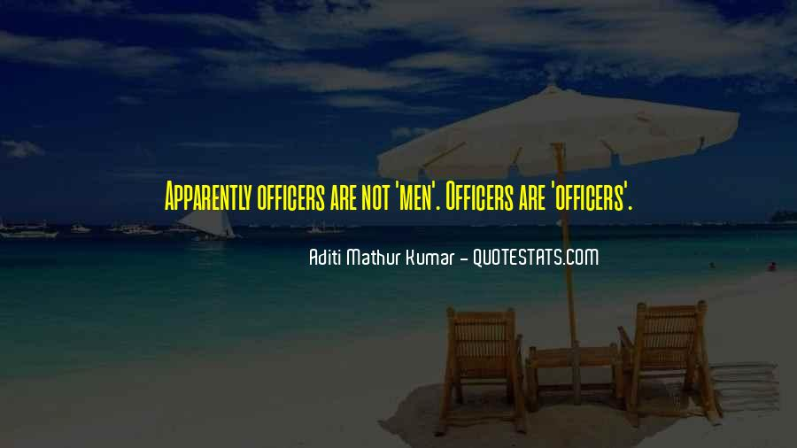 Quotes About Officers In The Army #394026