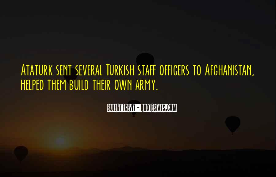 Quotes About Officers In The Army #407516