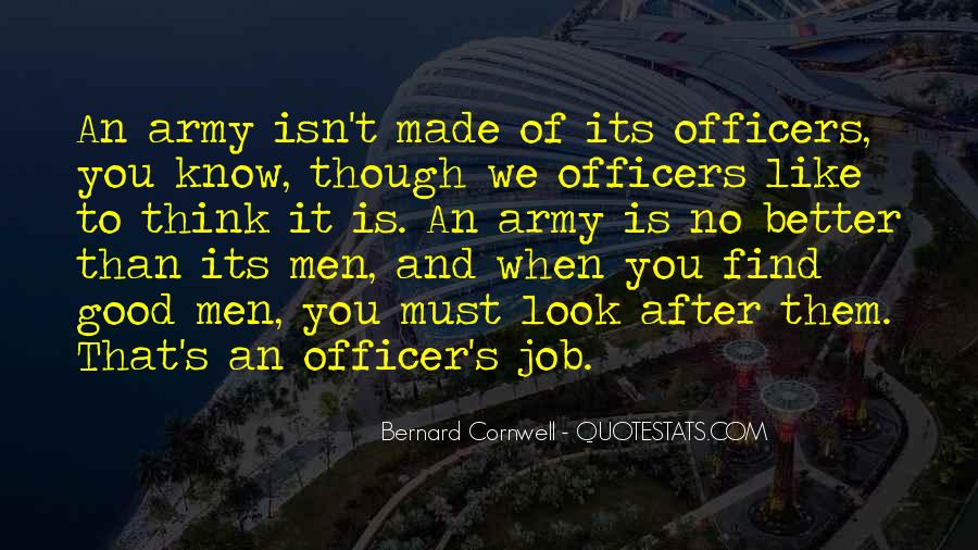 Quotes About Officers In The Army #5780