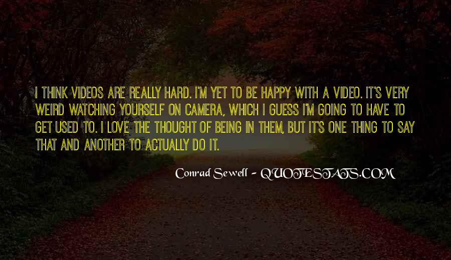 Quotes About Used To Love #148465