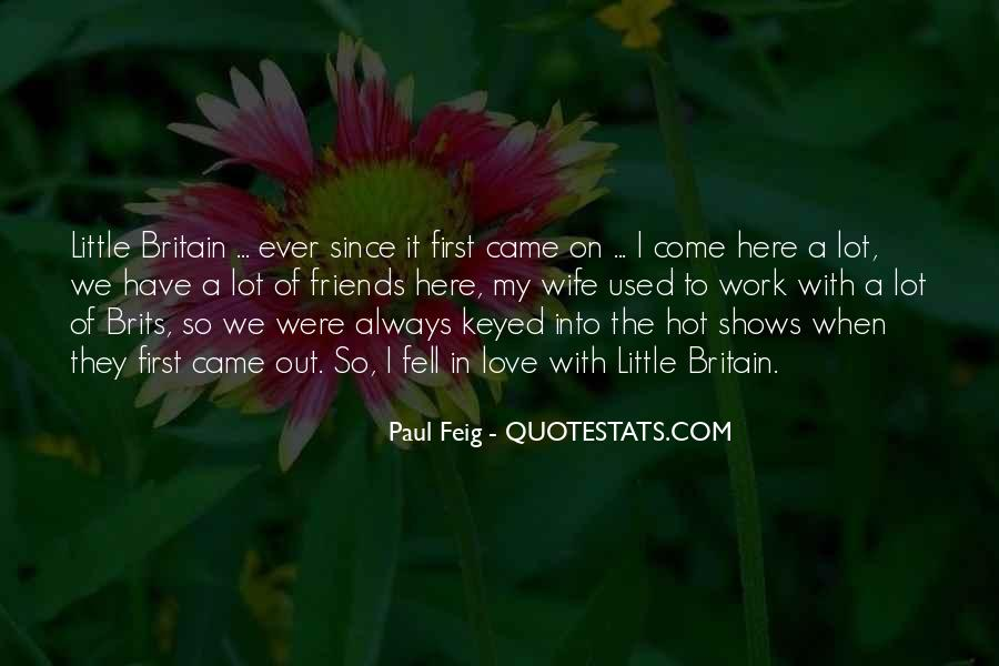 Quotes About Used To Love #34746