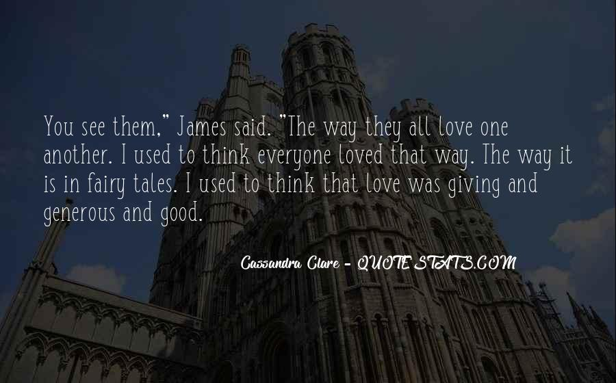 Quotes About Used To Love #35078
