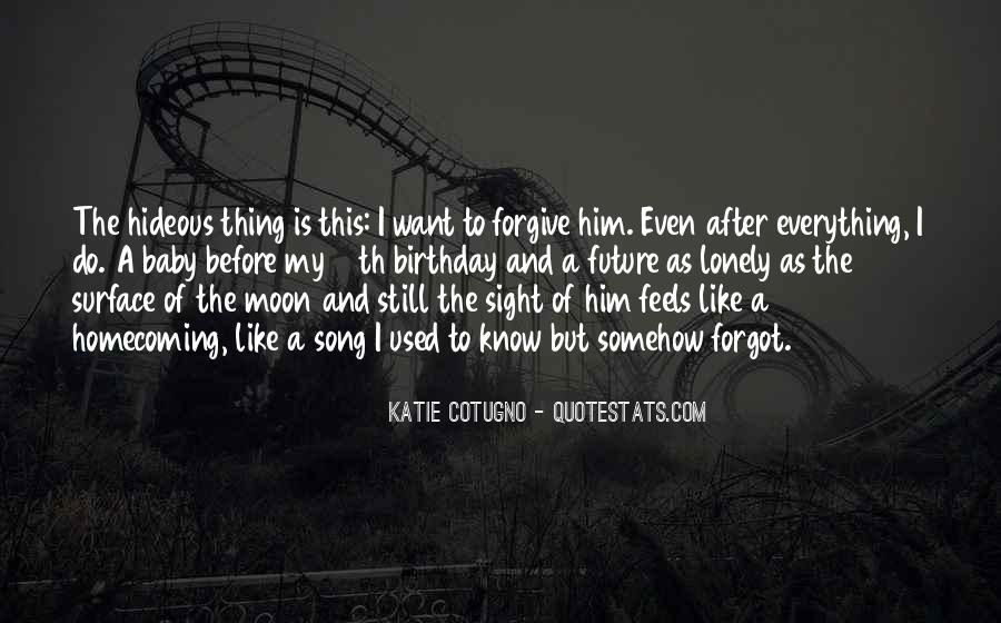 Quotes About Used To Love #46800