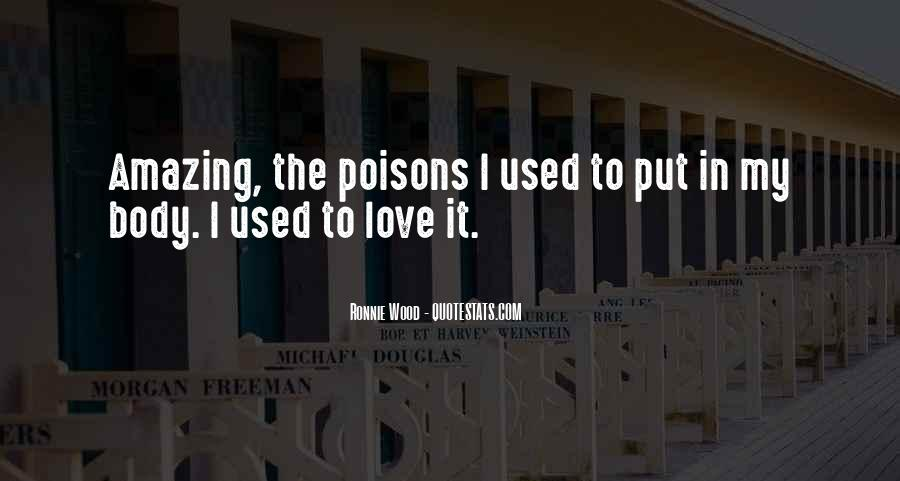 Quotes About Used To Love #9272