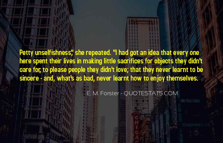 Top 9 Quotes About Making Sacrifices For Love Famous Quotes