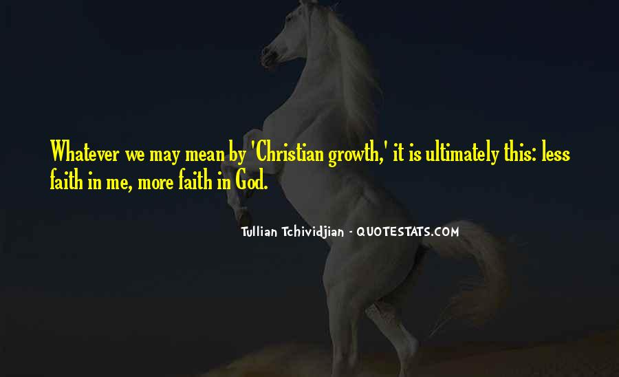 Quotes About Christian Faith #43806