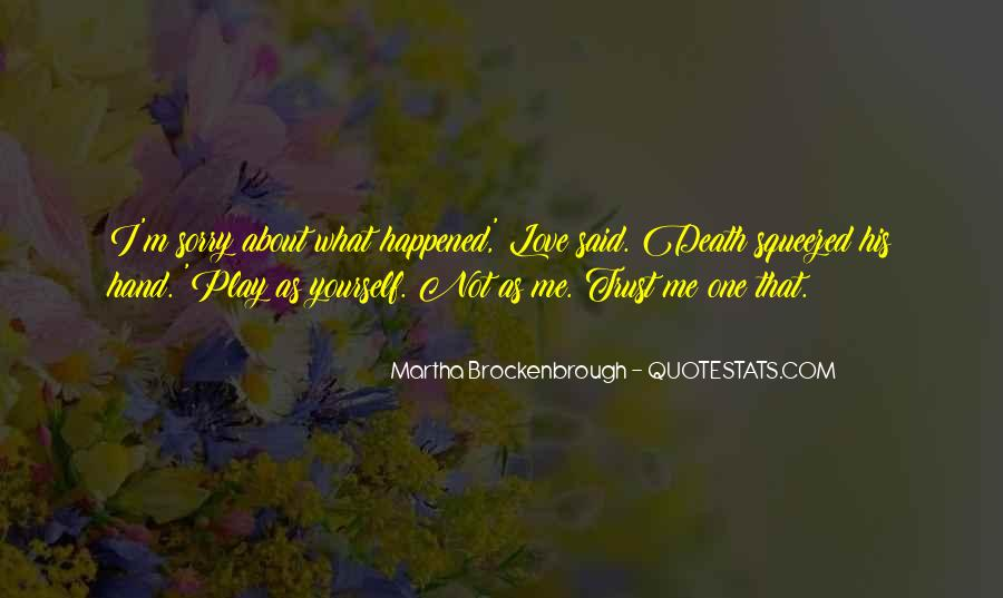 Quotes About Not Understanding Me #26621