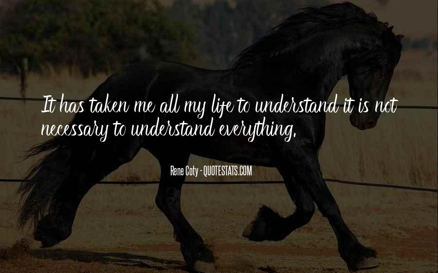 Quotes About Not Understanding Me #700914