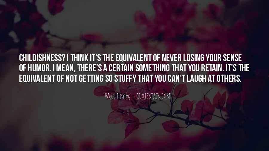 Quotes About Losing Your Sense Of Self #849355