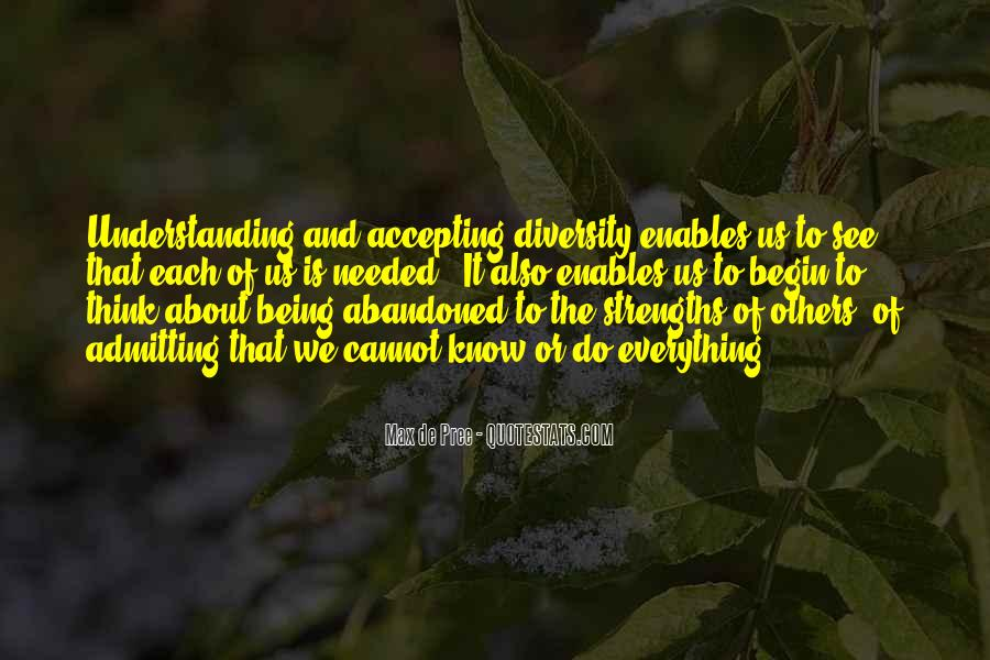 Quotes About Accepting Diversity #964959