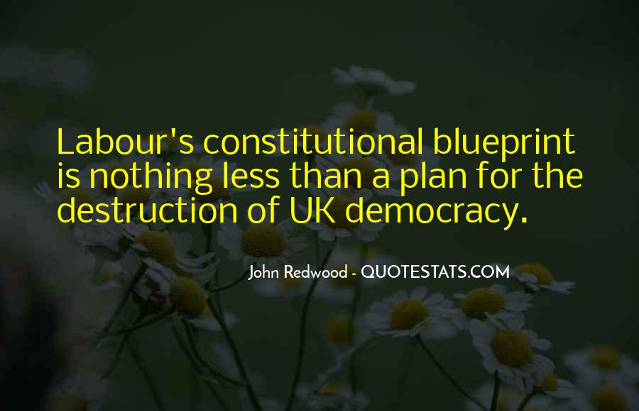 Quotes About Uk Constitution #1390287