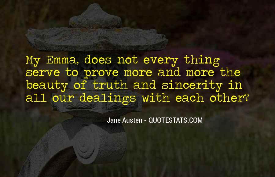 Quotes About Emma Jane Austen #1452916