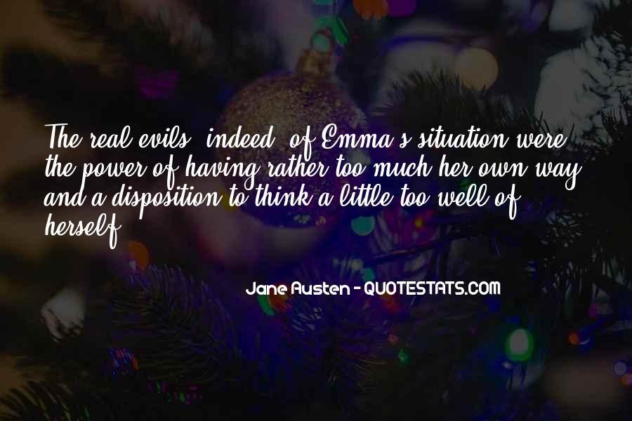 Quotes About Emma Jane Austen #1649599