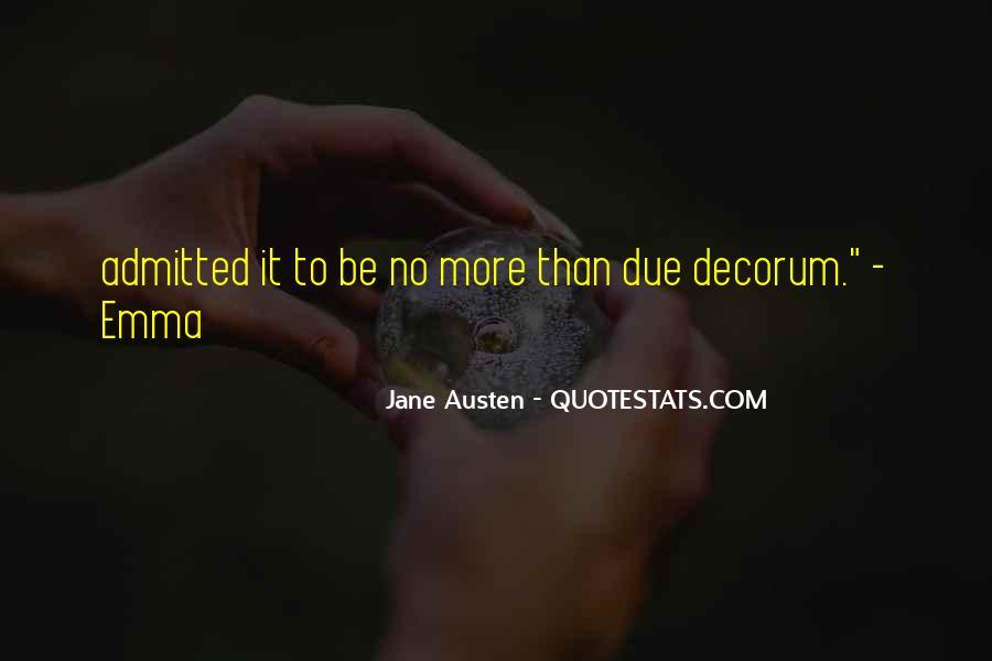 Quotes About Emma Jane Austen #1846054