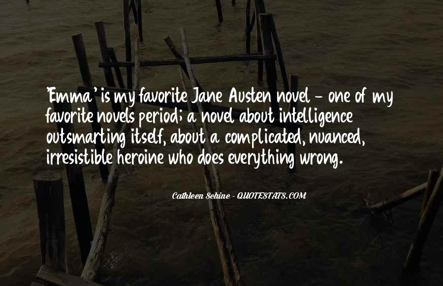 Quotes About Emma Jane Austen #283995